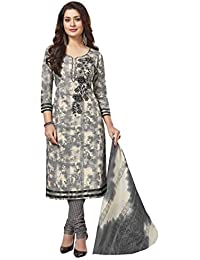 Miraan Women's Cotton Unstitched Dress Material (1819)