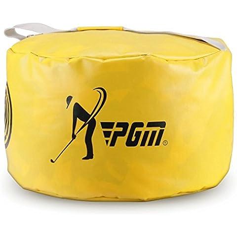 pgm golf swing Formazione Borsa multifunzione borsa da golf Golf Strike pacchetto per esercizi per confezione, Yellow