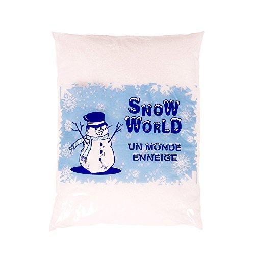 Bolsita Nieve Artificial - mundo Nevado - 3 litros