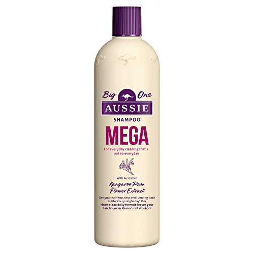 Aussie Mega Shampoo for That Mega Clean Feeling Every Day, 500 ml