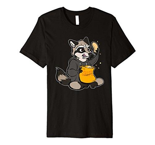 Furry Shirt-Waschbär Shirt-Chips - Waschbär Furry Kostüm