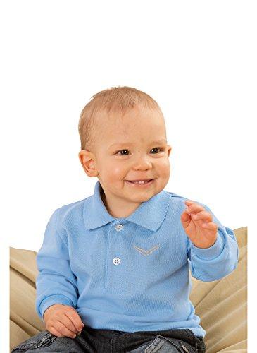 Trigema Baby Langarm Polo-Shirt