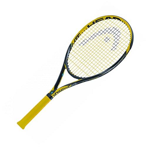 HEAD Tennisschläger Extreme LITE - besaitet schwarz/gelb (703) L2 (Head Tennisschläger)