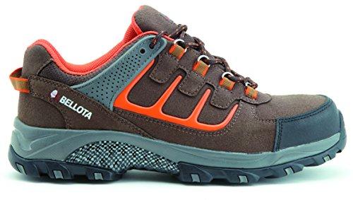 Bellota 72212 - Zapato de seguridad trail S3, marrón, talla 41
