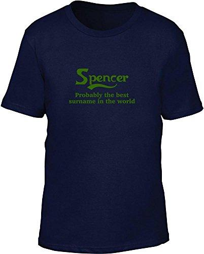 Spencer probabilmente il migliore cognome nel mondo bambini T Shirt Navy