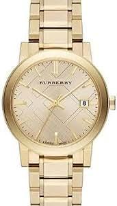 burberry herren damen 38mm gold delstahl armband. Black Bedroom Furniture Sets. Home Design Ideas