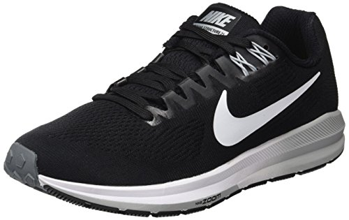 huge selection of 0054e 0524c Nike W Air Zoom Structure 21, Scarpe Running Donna, Nero (Black White