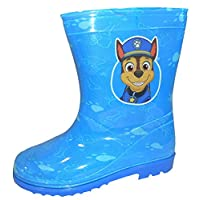 Paw Patrol Boys Wellington Rain Boots Blue