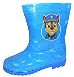 Paw Patrol Boys coloratissimi stivali. Slip on, con suola robusta. Disponibile in una gamma di dimensioni da UK 4 / EU 21 / UK 9/ EU 27