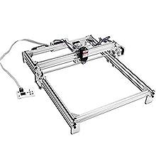 TOPQSC Kit de Machine de Gravure Laser 50x40cm 7000mW DIY Desktop Printer Logo Imprimante de Marquage d'image, Découpeuse de Gravure sur Bois USB 12V