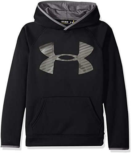 132b1f1948bf 7. Under Armour Jungen Af Storm Highlight Hoody Fitness-Sweatshirts, Black,  YXS