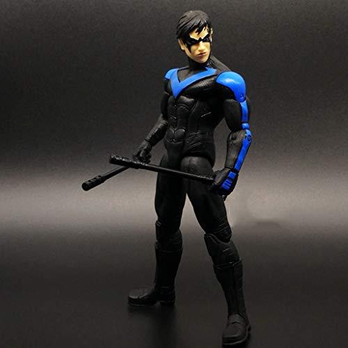 Llsdls Batman 12-Zoll-Action-Figur - Justice League Toy - DC Comics Dark Knight - Superman 12 Inch Action-figur