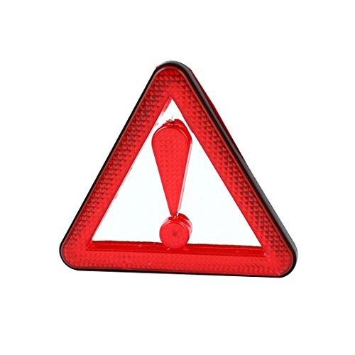 sourcingmap Straßenseite Verkehrsgefahr Reflektiv Scherheitszeichen Warndreieck Aufkleber