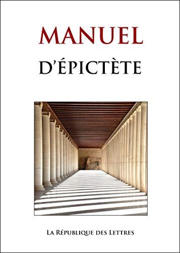 Manuel d'Épictète (GF t. 797)