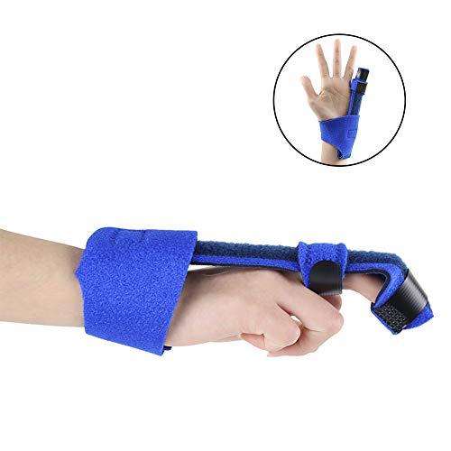NICEWL Handschiene Finger Unterstützung-Finger Knuckle Fractures Immobilisation, Postoperative Pflege Und Schmerzlinderung, Jugend Erwachsene Metallic Finger Extension Splint -