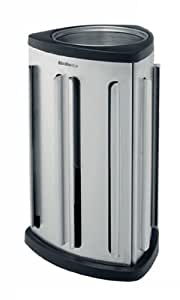 Brabantia 418709 Distributeur de Capsules de Café Matt Steel
