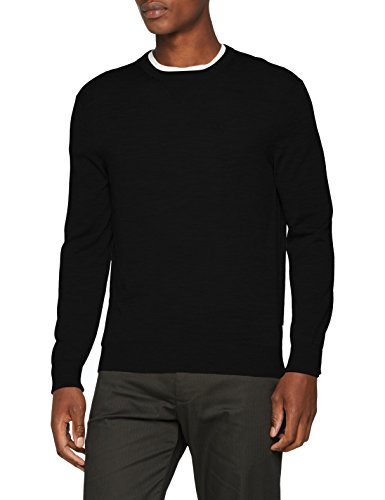 Armani Exchange Herren 8NZM3A Pullover, Schwarz (Black 1200), One Size (Herstellergröße: M)