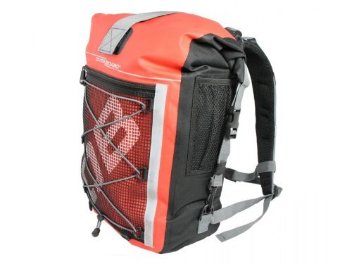 OverBoard Waterproof Pro-Sport Backpack, Red, 30-Liter by Overboard
