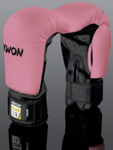 Kwon Boxhandschuh Clubline Pointer Boxhandschuhe, klein Rosa Pink - pink