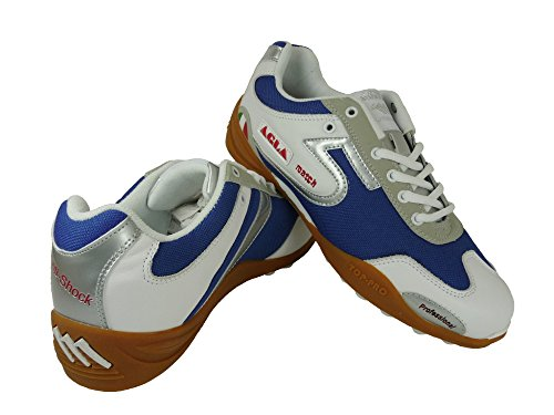 AGLA , Chaussures pour homme spécial foot en salle Blue/White/Silver