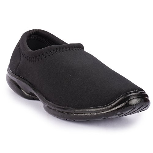 Action Shoes Women's Black Safety Shoes - 7 UK/India (39 EU)(BL-3696-BLACK)  available at amazon for Rs.209