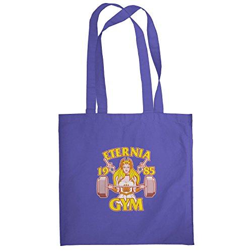 Texlab–She Fitness 1985–sacchetto di stoffa Marine