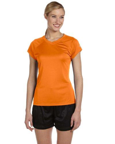 Champion - T-shirt de sport - Manches Courtes - Femme Orange - Orange sécurité