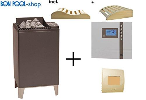 BON pISCINE poêle pour sauna euro max. 12 kW leistungsschaltgerät lSG9 eOS eCON d3