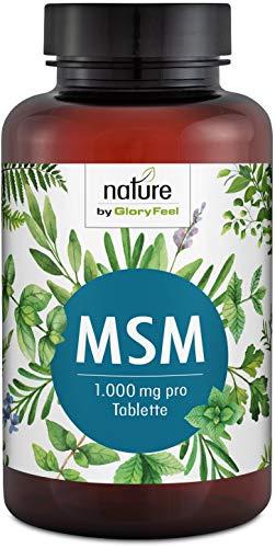 MSM 365 vegane Tabletten – 2000mg MSM (Methylsufonylmethan) Schwefel-Pulver PLUS natürliches Vitamin C aus Acerola pro Tagesdosis – Laborgeprüfte Herstellung ohne Zusätze in Deutschland