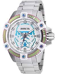 Invicta 26555 Star Wars - Stormtrooper Reloj para Hombre acero inoxidable Automático Esfera blanco