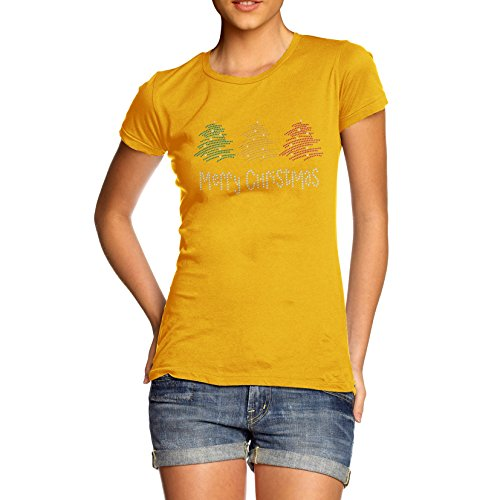 TWISTED ENVY - Canotte - Maniche corte  - Donna Yellow X-Large