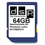 64GB Ultra Highspeed Speicherkarte für Panasonic Lumix DC-FZ82EG-K Digitalkamera