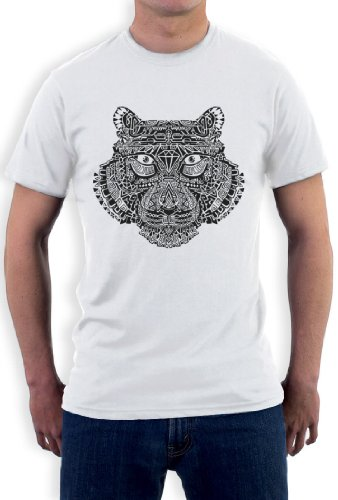 TIGER DISOBEY T-Shirt Weiß