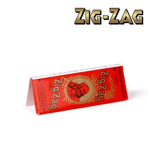ZIG ZAG N°125 ORANGE - sans nicotine ni tabac