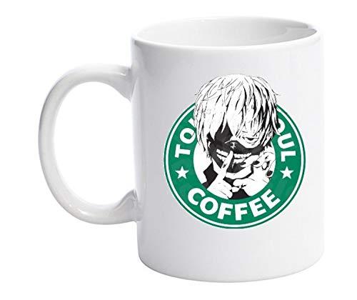 Tokyo Ghoul Starbucks parody Anime Coffee 11oz Mug...