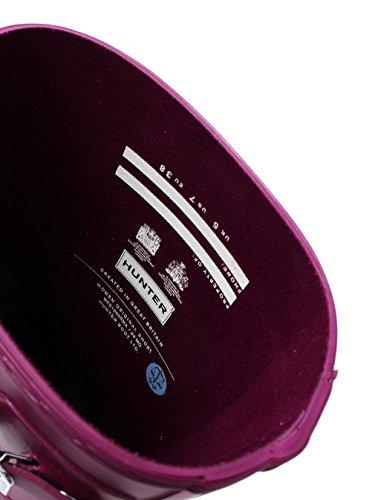 Hunter Womens Original Short, Bottes En Caoutchouc Pour Femmes Violet (violet Rvi)