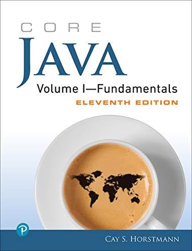 Core Java Volume I--Fundamentals (English Edition)