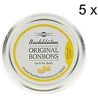 Bachblüten Original Bonbons nach Dr. Bach Alkohol und Zuckerrfrei 5er Set: (5x50 g) preisvergleich bei billige-tabletten.eu