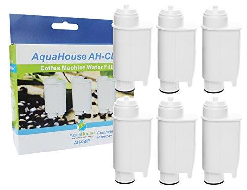 6x AquaHouse AH-CBIP Kompatibel Wasserfilter Patronen für Saeco Phillips Intenza+ Lavazza Gaggia...
