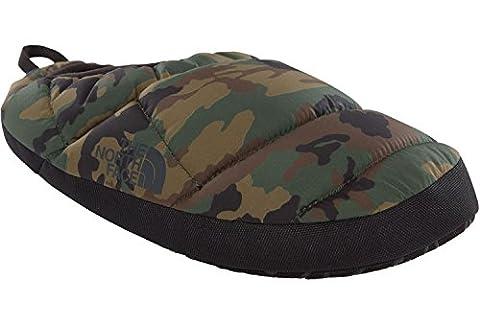 The North Face Men's Nse Tent Mule Iii Low-Top Slippers, Multicolour (Black Forest Wild Indigo Camo/Tnf Black), 3/4 UK 39 2/3 EU
