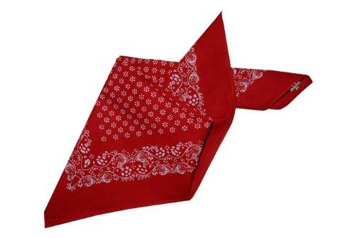 Moschen-Bayern Damen Herren Trachtenhalstuch Halstuch Rot