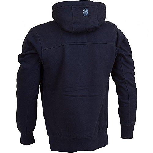 CrossHatch -  Felpa con cappuccio  - Con cappuccio  - Uomo blu navy