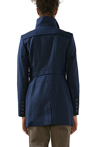 ESPRIT Collection Damen Mantel Blau (Navy 400)