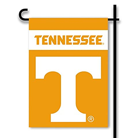 NCAA Tennessee Volunteers Two Sided Garden Flag, One Size, Tennessee