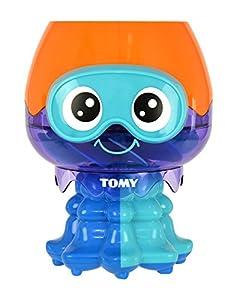 TOMY Juguete de bañ diseño de un Divertido Pulpo Que salpica Agua, para niños a Partir de los 12 Meses,, bañera y la Piscina, Ideal como Juguete de Regalo acuático