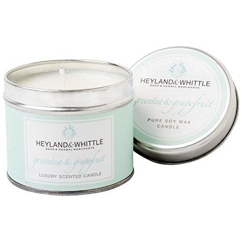 Heyland & Whittle Grüner Tee und Grapefruit Candle Tin