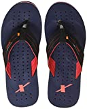 Sparx Men's Black and Navy Flip-Flops and House Slippers - 10 UK/India (44.67 EU) (SFG-517)