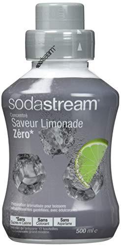 Sodastream Concentré Sirop Saveur Limonade Zéro 500 ml