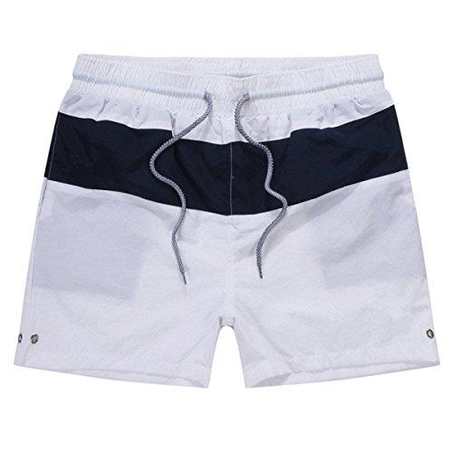 2 Pack Des Hommes Quick Dry Sports été Loisirs Plage Courir Frapper La Couleur Swim Trunk Tailles Et Couleurs Assorties C