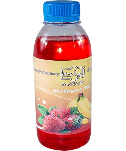 Al Waha Molasse Erdbeere-Banane 250ml